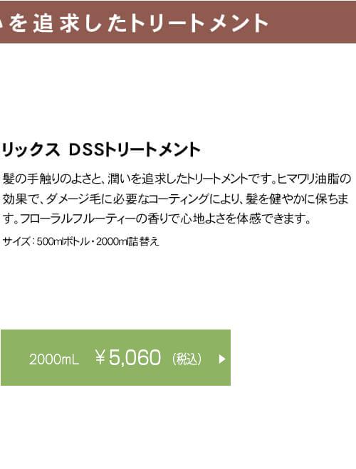 リックス DSS トリートメント 2000ml